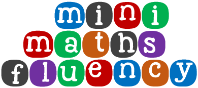 Mini maths Fluency title logo