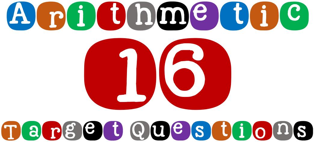 SATs arithmetic target questions
