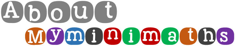 About My Mini Maths Title Logo