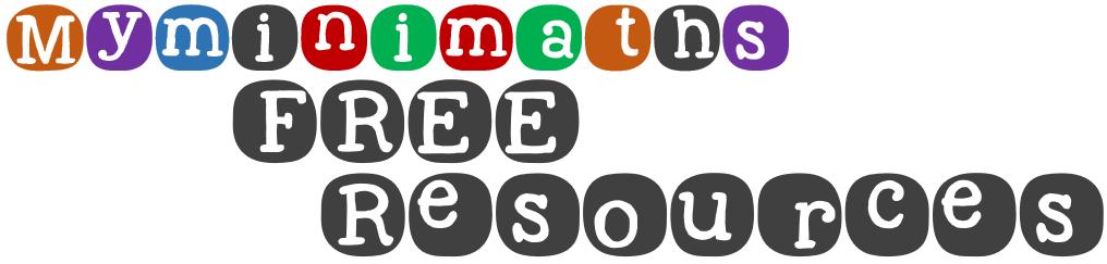free maths resources title logo